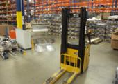 Nový centrální sklad: Dočasný pronájem vozíků jako  součást ladění skladového provozu