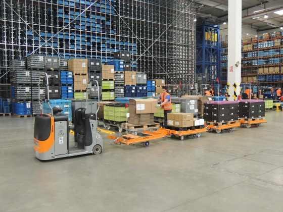 Inteligentní tažné soupravy posilují efektivní logistiku