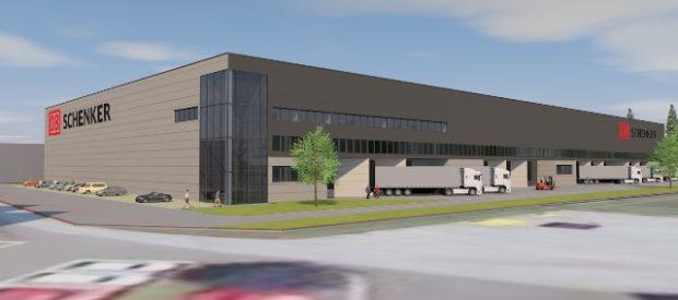 DB Schenker buduje logistický terminál v Rakousku