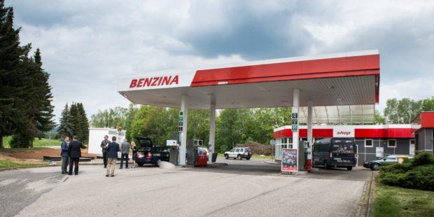 RWE otevřela CNG plničku v Trutnově