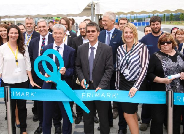 Primark a DHL Supply Chain otevírají distribuční centrum v Boru