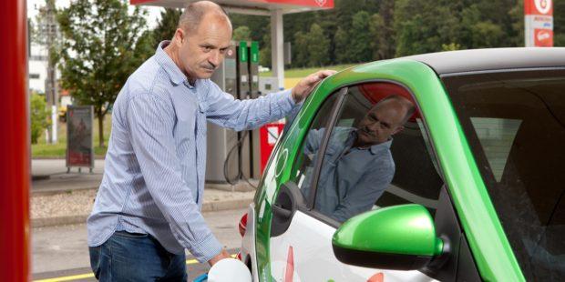 E.ON otevřel další nabíjecí stanici pro elektromobily