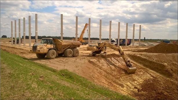 Panattoni staví u Pavlova druhou průmyslovou halu