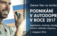 Sedm témat na konferenci o silniční nákladní dopravě