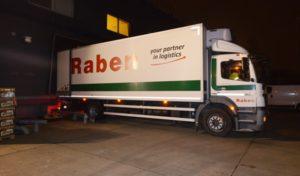 Národní potravinová sbírka: Raben ujel 5000 kilometrů, přepravil 66 tun