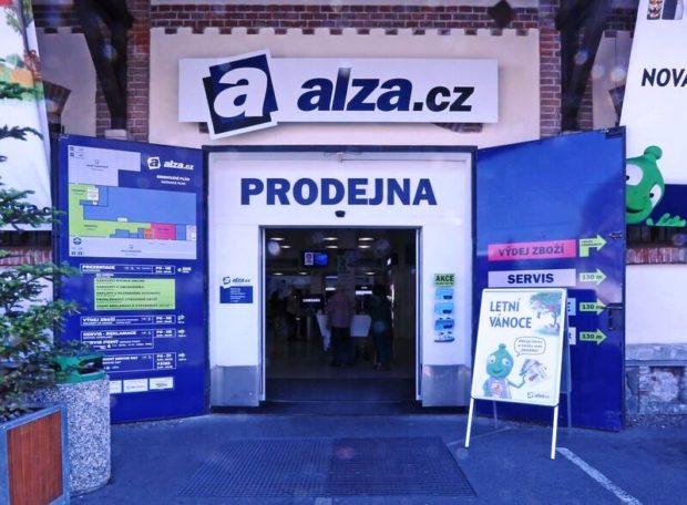 Tržby společnosti Alza.cz loni vzrostly o více než pětinu