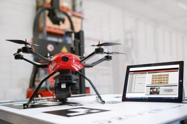 Dron z dílny Linde MH umí inventury ve skladech