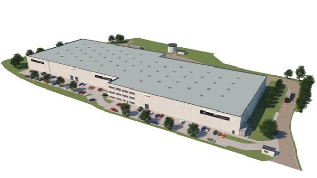 Tirex Tyre bude mít novou halu v Panattoni Parku Prague Airport II