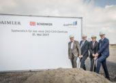 DB Schenker staví obří logistické centrum pro Mercedes Benz. Na ostrově