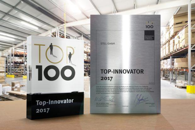 STILL oceněn v Německu jako inovační firma