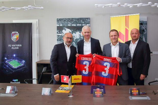 DHL Express partnerem fotbalové Viktorie Plzeň