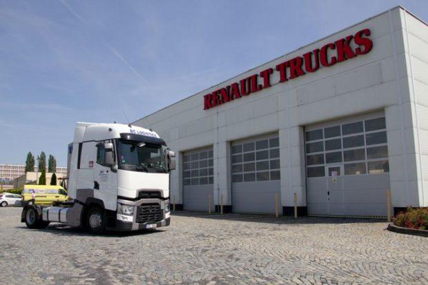 Jubilejní vůz Renault Trucks T pro firmu BC Logistics