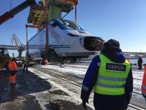 Ze Španělska do Ruska: GEFCO přepravilo vlak Talgo