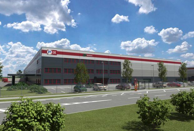P3 staví v hornopočernickém parku novou budovu pro firmu Sécheron