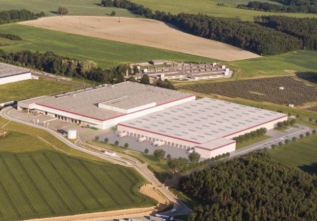 Druhá výrobní hala pro KION Group ve Stříbře dokončena
