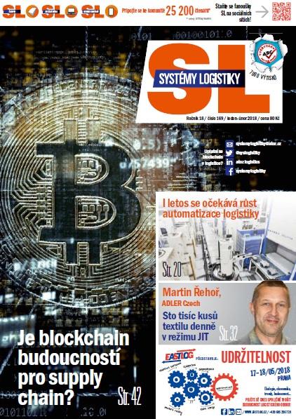 SL 169: Blockchain; Logistika v hutnictví; Automatizace skladu