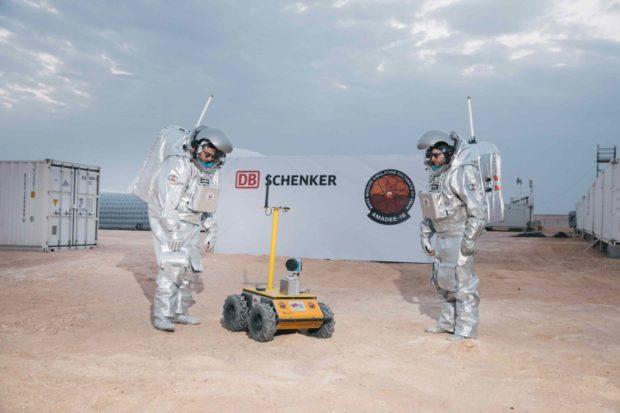 DB Schenker se podílí na simulaci mise na Mars