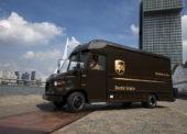 Chytrá síť v Londýně umožní rychlonabíjení firemních elektromobilů UPS