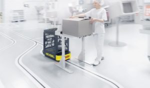 Nové AGV od firmy SSI Schäfer