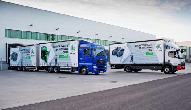 ŠKODA AUTO investovala půl miliardy do rozšíření skladu náhradních dílů