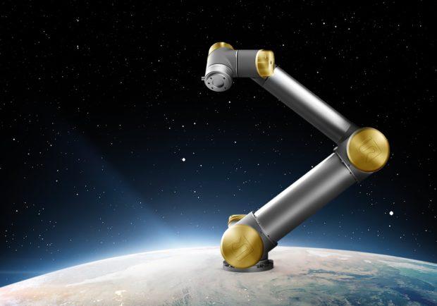 Chcete zlatého robota? Universal Robots jej věnuje jubilejnímu zákazníkovi
