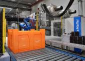 Nová výroba plastových kontejnerů v Beringenu v Belgii