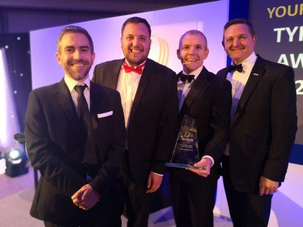Bridgestone získal top ocenění v soutěži TyreSafe