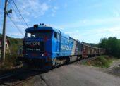 Nákladní vlaky s minerálkou z Kyselky nahradily jízdu 11.500 kamionů