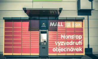 Mall Boxy v pilotním provozu umožňují nonstop vyzvednutí nákupů