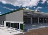 Prologis staví logistickou budovu projektovanou pomocí inteligentní metody BIM