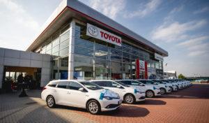 Philip Morris si pořídil novou flotilu hybridů Toyota