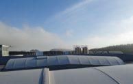 Industrial Park Tachov: Úspora energie díky speciálnímu nátěru světlíků