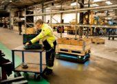Roboty v logistice: Loňský nárůst přesáhl 160 procent
