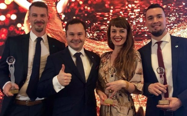 108 AGENCY získala ocenění CIJ Awards 2018 v Česku i na Slovensku