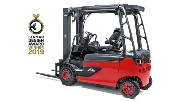 Vozík Linde Roadster se stal vítězem German Design Award 2019