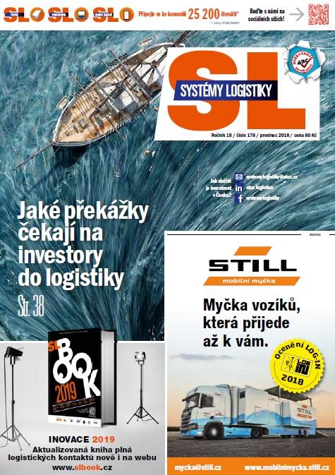 SL 178: Překážky pro investory; Udržitelná logistika; Efektivní inventura skladu