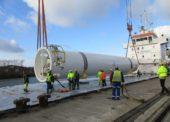 DB Schenker přepravil nadrozměrný zásobník na plyn k polárnímu kruhu