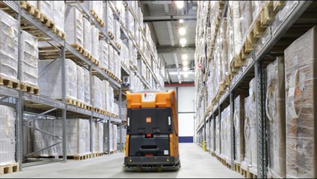 DSV ve skladu farmaceutických produktů nasazuje robotizaci