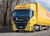 DHL Freight testuje v Německu výkonný tahač s pohonem na LNG