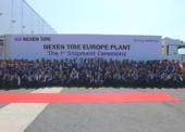 Výrobní závod Nexen Tire u Žatce zahájil zkušební provoz a vyexpedoval první pneumatiky