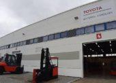 Toyota otevřela nové depo v Hranicích na Moravě