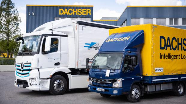 DACHSER testuje elektrický nákladní vůz eActros od Mercedes-Benz