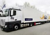 GLS testuje v Německu dlouhé kamiony. Uvezou o polovinu více balíků