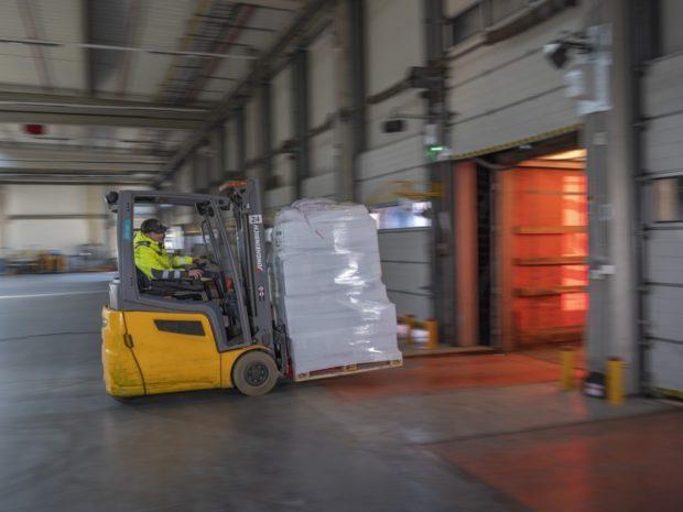 Cargometer optimalizuje využití nákladového prostoru