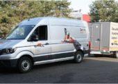 STILL používá nový servisní vůz pro formátování trakčních baterií