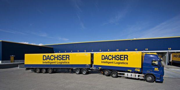 DACHSER využívá v Česku další silniční vlak