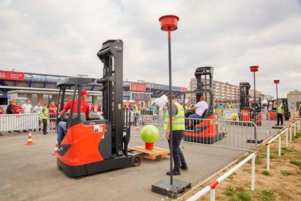 Linde Ještěrka Cup přivítá nejlepší řidiče vysokozdvižných vozíků v pražských Letňanech