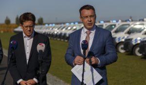 CzechToll předal státu speciální vozidla pro kontrolu výběru mýtného