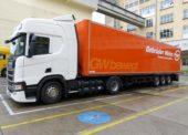 Gebrüder Weiss a Henkel využívají tahač s pohonem na CNG