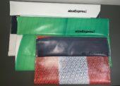 Alza testuje obaly RepeteBox vyrobené z vyřazených reklamních plachet